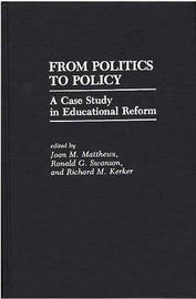 From Politics to Policy