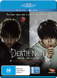 Death Note Movie Collection (4 Disc Special Edition) on DVD, Blu-ray