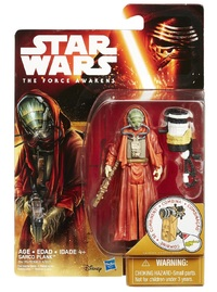 "Star Wars 3.75"" The Force Awakens - Sarco Plank"