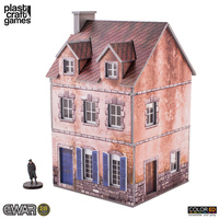 ColorED Scenery: Europe at War Two-Storey Building