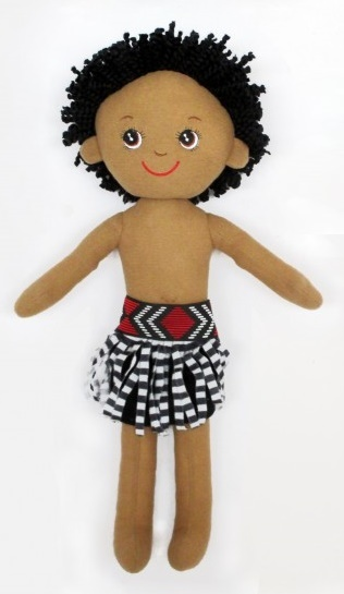 NZ Gift: Soft Doll Maori Boy - 40cm