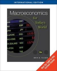 Macroeconomics for Today's World by Irvin B Tucker image
