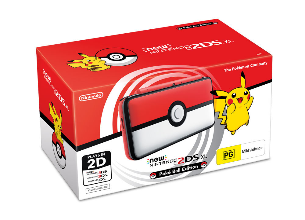 New Nintendo 2DS XL PokeBall Edition for Nintendo 3DS image
