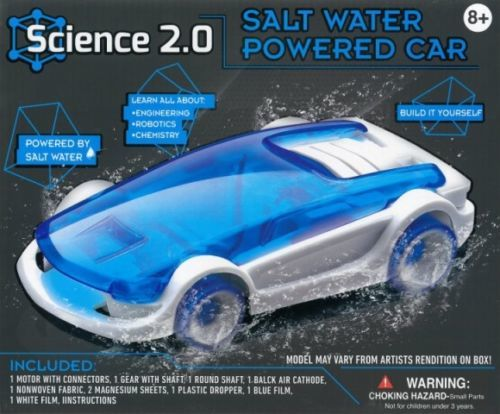 Science 2.0: Salt Water Powered Car - Science Kit