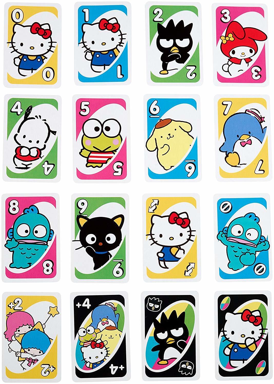 c49bde235 ... Uno: Hello Kitty - Card Game image ...