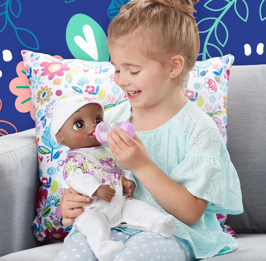 Baby Alive: Real As Can Be Baby Doll - (Black Sculpted Hair) image