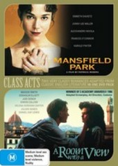 Mansfield Park / Room With A View (2 Disc Set) on DVD