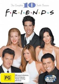Friends - Season 10 on DVD