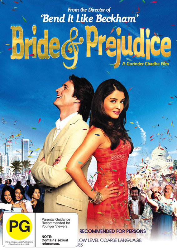 Bride And Prejudice on DVD