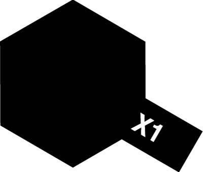 Tamiya Enamel: Black (X1)
