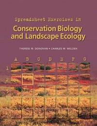 Spreadsheet Exercises in Conservation Biology and Landscape Ecology by Therese M. Donovan image