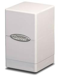 Ultra Pro: Satin Tower Deck Box - White
