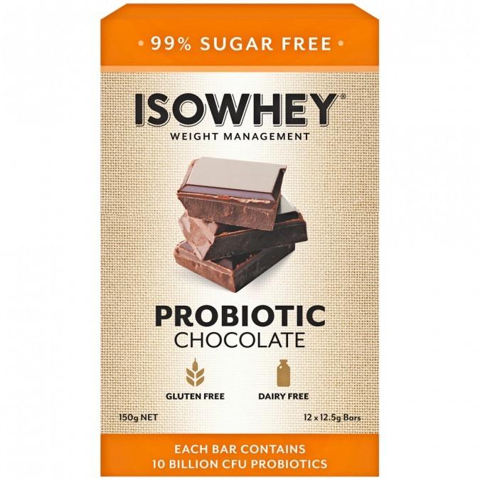 IsoWhey Probiotic Chocolate (12x12.5g) image