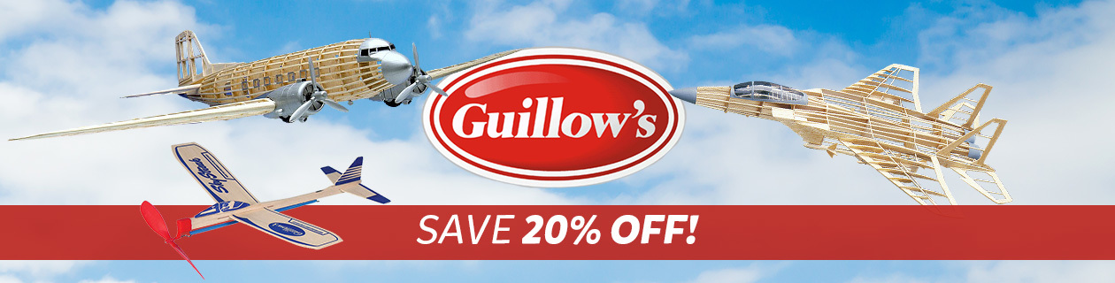20% off Guillows