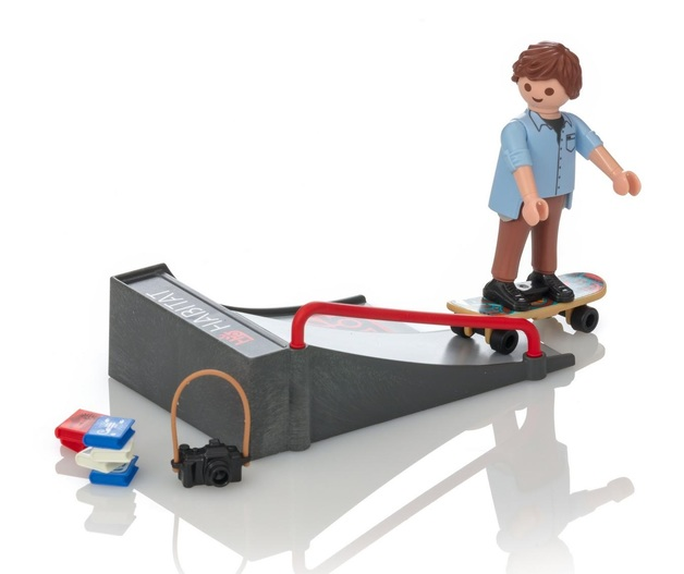 Playmobil: Special Plus - Skateboarder with Ramp (9094)