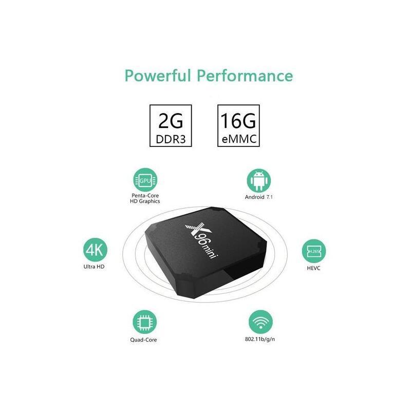 Mini 4K Ultra HD Android TV Box image