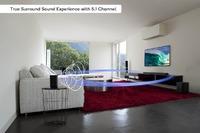 Kogan: 5.1Ch 200W Dolby Soundbar with Wireless Subwoofer & Rear Speakers