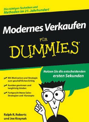 Verkaufstechniken fur Dummies by Joe Kraynak