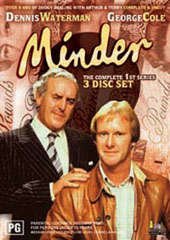 Minder - The Complete 1st Series on DVD