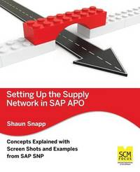 Setting Up the Supply Network in SAP Apo by Shaun Snapp