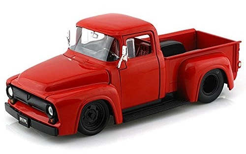 Jada: 1/24 Btm Ford F100 – Diecast Model (Red) image