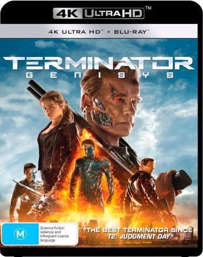 Terminator Genisys on UHD Blu-ray image