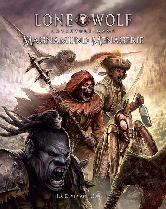 The Lone Wolf Adventure Game - Magnamund Menagerie