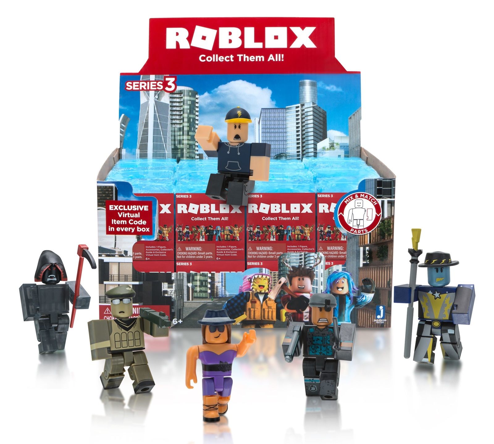 Roblox: Mystery Figure - Series 3 (Blind Box)