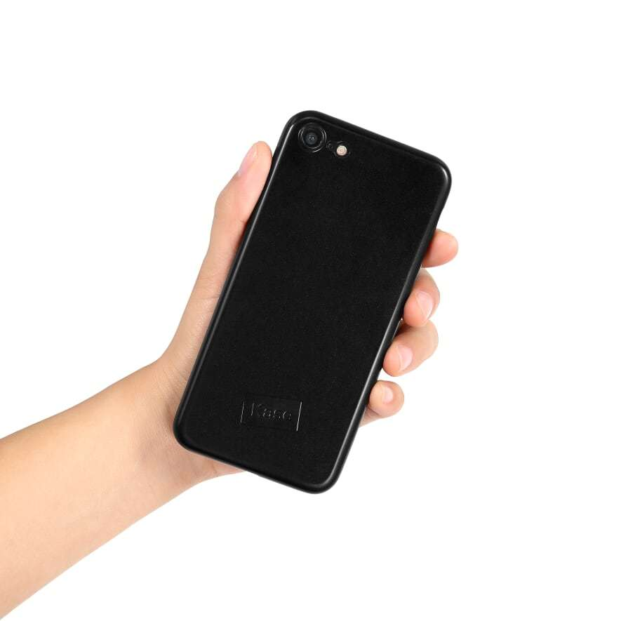 Kase Go Original iPhone 8 Slim Case - Black Magic image