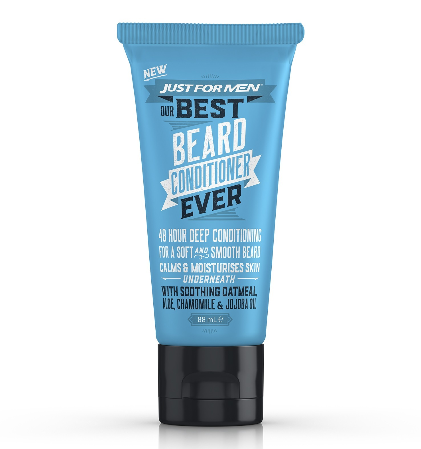 Just For Men Our Best Ever Beard Conditioner (88ml) image
