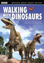 Walking With Dinosaurs - Abridged Movie Length Edition on DVD