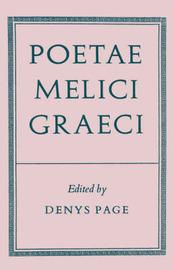 Poetae Melici Graeci image