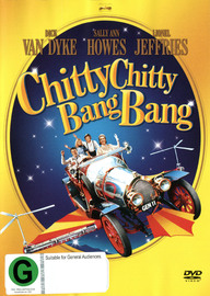 Chitty chitty bang bang pop up book