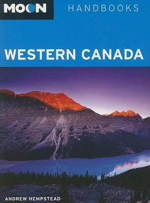 Moon Western Canada by Andrew Hempstead