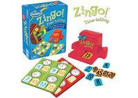 ThinkFun Zingo! Time-Telling Game