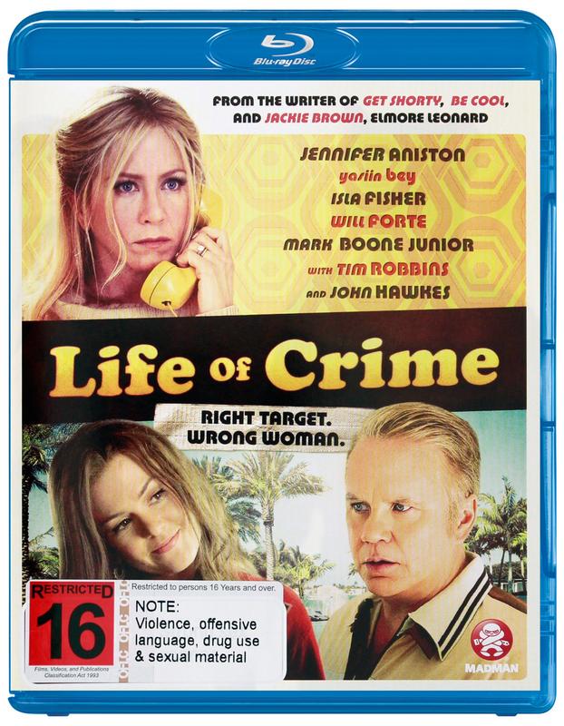 Life of Crime on Blu-ray