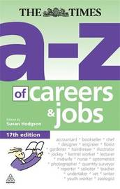 The A-Z of Careers and Jobs by Susan Hodgson image