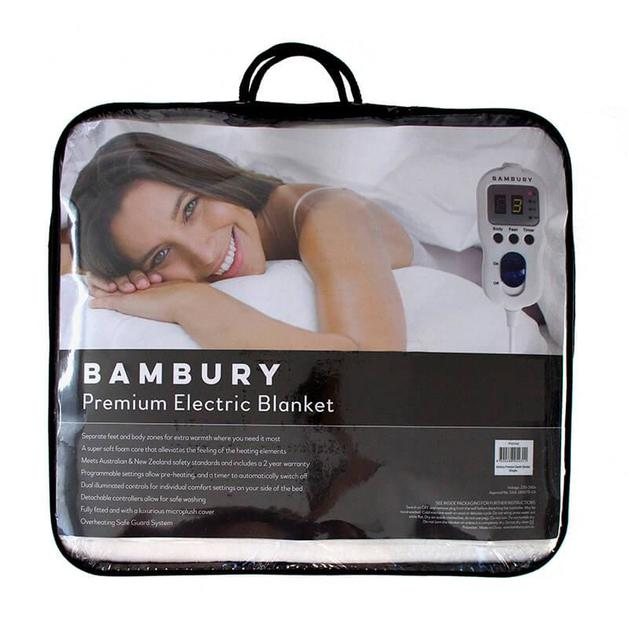 Bambury Queen Sonar Premium Electric Blanket