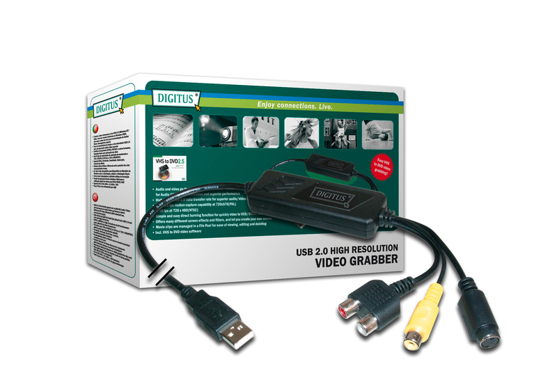 Digitus Hi-Res Video Grabber w/ MPEG 4 image