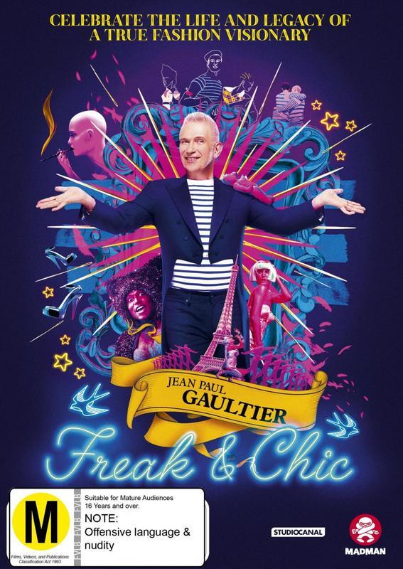 Jean Paul Gaultier: Freak And Chic on DVD