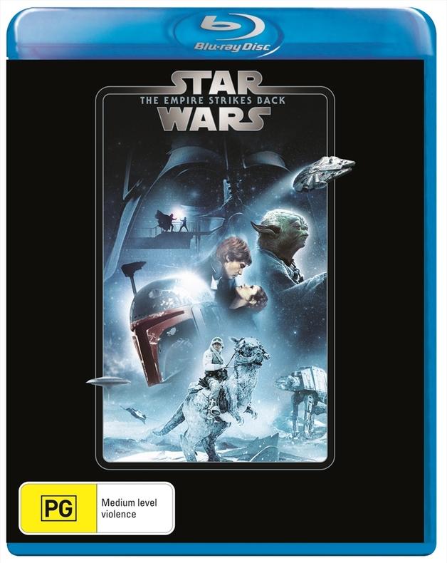 Star Wars: Episode V - The Empire Strikes Back on Blu-ray