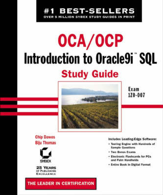 OCA/OCP: Introduction to Oracle9i SQL Study Guide: Exam 1Z0-007 by Chip Dawes image