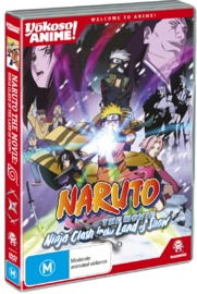 Naruto the Movie: Ninja Clash in the Land of Snow! (Yokoso Anime Edition) on DVD