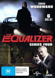 The Equalizer Series 4 on DVD image
