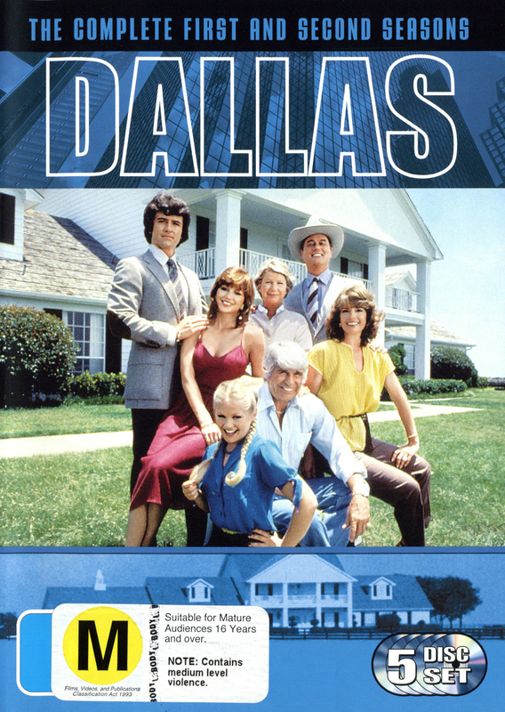 Dallas - The Complete 1st and 2nd Seasons (5 Disc Box Set) on DVD