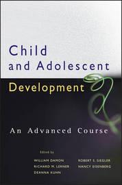 Child and Adolescent Development by William Damon image