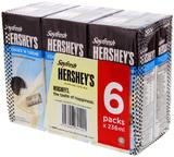 Hershey's Soyfresh Cookies n Creme - 236ml (6 Pack)