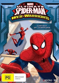 Ultimate Spider-Man: Contest of Champions on DVD