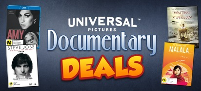 Universal Pictures Documentary Deals - Up to 70% off!
