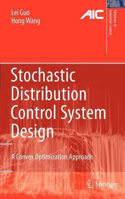Stochastic Distribution Control System Design by Lei Guo image